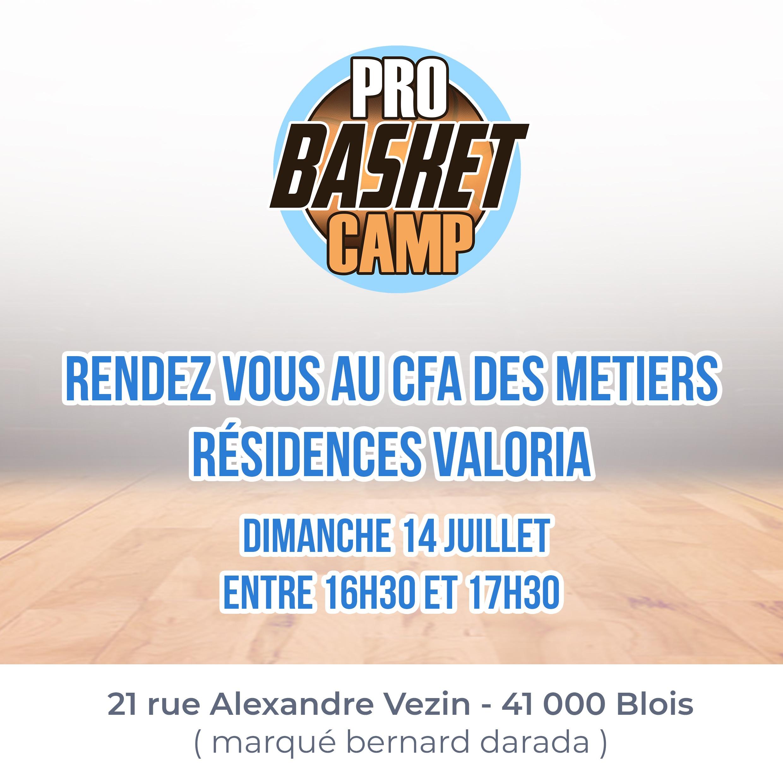illustration Le Pro Basket Camp 2019 arrive !